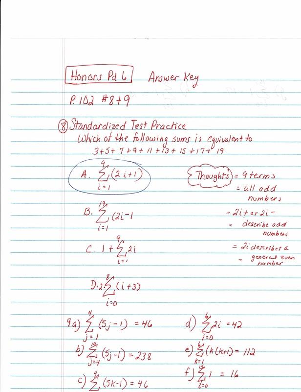 Homework from Friday Answers - Brockton High School Mrs  Karahalis
